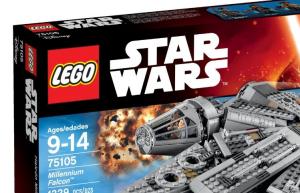 legos star wars millennium falcon